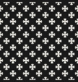 simple floral pattern geometric seamless texture vector image vector image