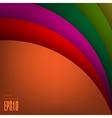 Arc modern background vector image