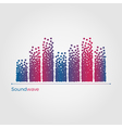 Soundwave concept vector image