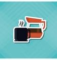 Coffee Shop icon design vector image vector image
