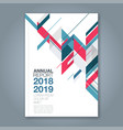 cover annual report 1012 vector image