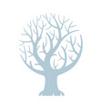 fairy eco tree for kids room sign or logo vector image