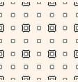 geometric minimalist texture seamless pattern vector image vector image