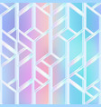 pastel color mosaic pattern vector image