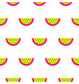 watermelon bright neon seamless pattern vector image vector image