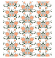 Abstract Floral ornament pattern vector image vector image
