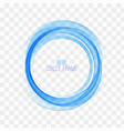 circle shape blue linesblue circles vector image