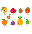 fruit set n2 vector image