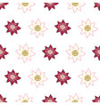 full bloom lotus big open flowers repeat vector image vector image
