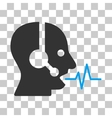 Operator Speech Icon vector image vector image