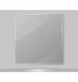 Transparent Glass Framework vector image