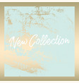 worn marble gold banner vector image vector image