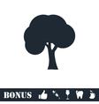 Tree icon flat vector image