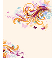 Abstract decorative floral background