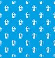 blacksmiths vice pattern seamless blue vector image vector image