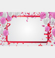 celebration and party background with colorful vector image