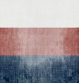 Grunge Flag Of Russian Federation vector image vector image