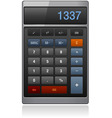 lassic calculator vector image vector image