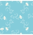 Seamless floral pattern with oriental vector image vector image