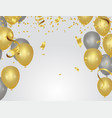 abstract background party celebration confetti vector image vector image