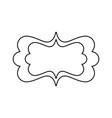 abstract shape mardi gras vector image