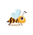 bee isolated vector image