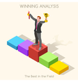 Business 11 People Isometric vector image vector image