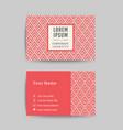 Business card art deco design template 04