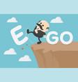 business concept cartoon senior elderly vector image