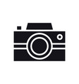 camera icon photography logo digital camera vector image vector image