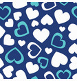 cute vintage color seamless pattern with vector image