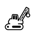 demolition icon design template isolated vector image