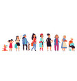 different generations woman young women age vector image vector image