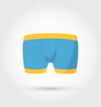 Mens underwear in front vector image
