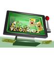 online gambling vector image vector image
