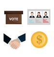 Political design vector image vector image