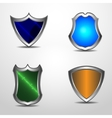 Protect shield set vector image vector image