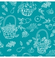 summer seamless pattern background vector image