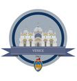 Venice vector image vector image