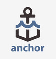 anchor with wave vector image