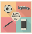 Dads stuff vector image vector image