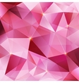 Pink crystal abstract background vector image