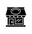 restaurant building icon vector image