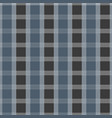 seamless tartan pattern blue and grey kilt fabric vector image vector image