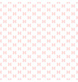 subtle seamless pattern with small pink bows vector image vector image