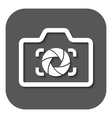 The camera icon Photo and diaphragm photographer vector image vector image
