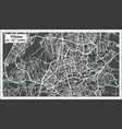 vilnius lithuania map in retro style vector image vector image