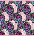 pink paisley ornate seamless pattern seamless vector image