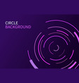 abstract background with circle line on dark vector image vector image