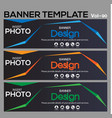 Banner web template banner blackground and banner